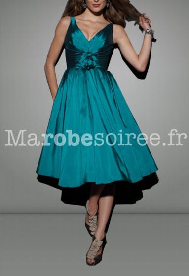 Maëlys - robe de soirée cérémonie robe de mariage sur mesure 5026