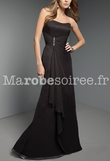 Gabrielle - robe de soirée cérémonie robe de mariage sur mesure 5031