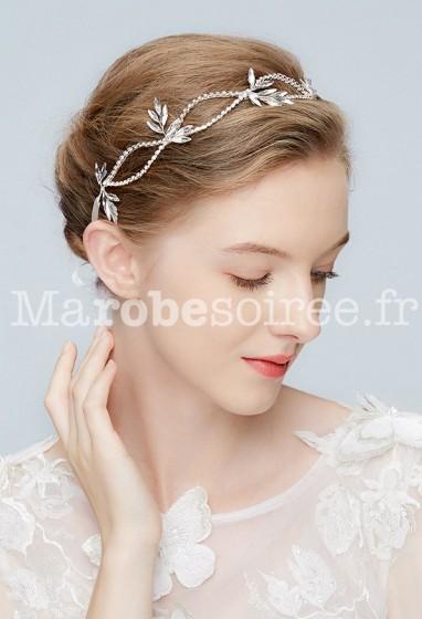 Bandeau mariage feuille - réf BD2140
