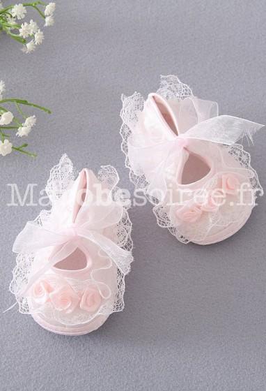 Adorable chausson pour bébés filles réf: C6846