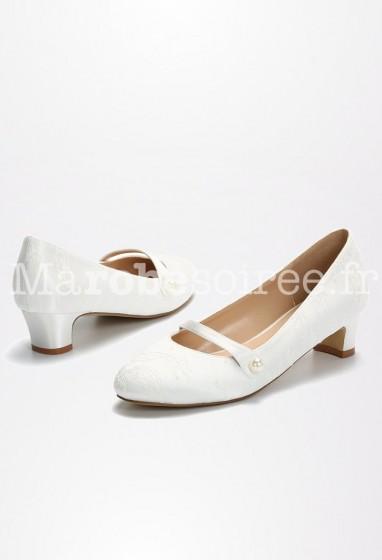 Chaussures de mariage à brides Réf CHS2246
