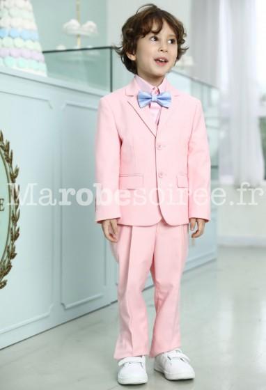 Adam - Costume enfant garçon rose - réf G026