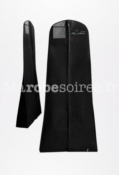 Housse de protection noire pliable Ma Robe Soirée
