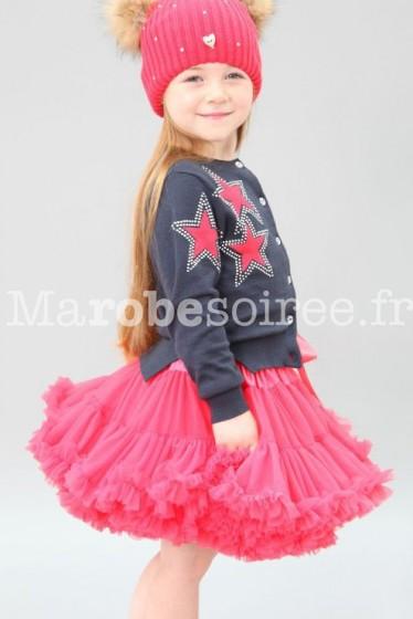Jupe froufrou fille princesse réf: QE01