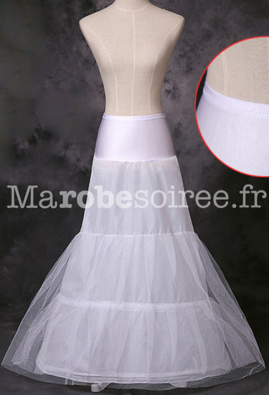 jupon pour les robes de soirée forme Aline