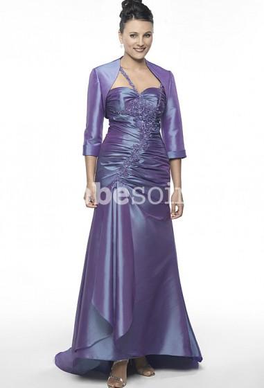 Calista - robe de soirée cérémonie robe de mariage sur mesure 6052