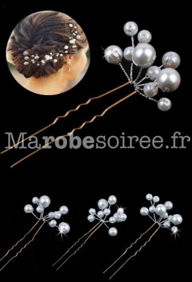 Pic à chignon en perles réf. pcp