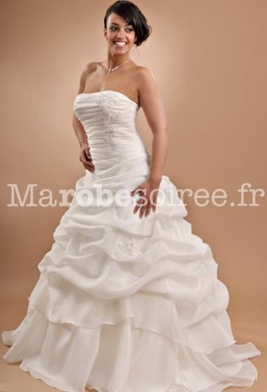 robe de mariée fermeture lacets