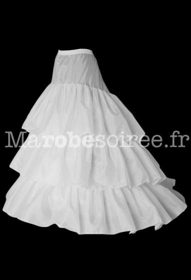 jupon pour les robes de mariée avec traîne