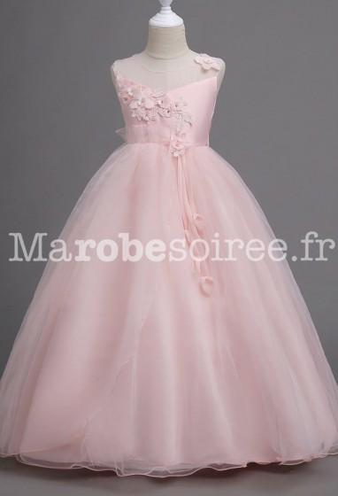 Robe de soirée enfant style princesse réf: EF720