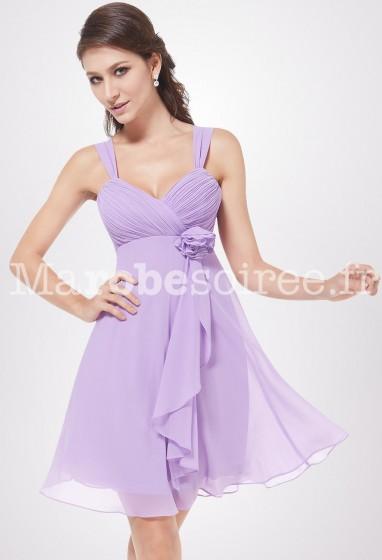 DESTOCKAGE - Loren - robe de soiree courte réf 3266