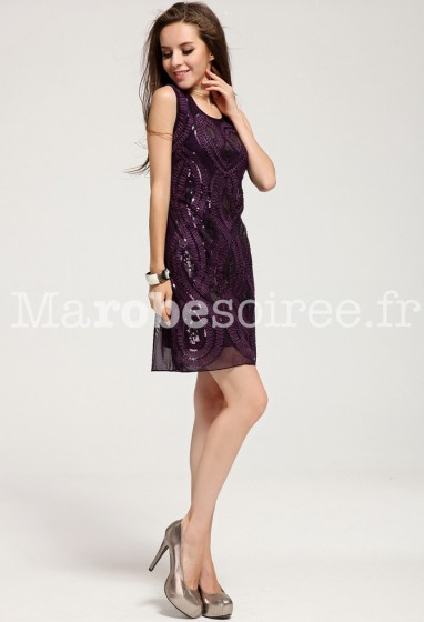 Robe de soiree style charleston
