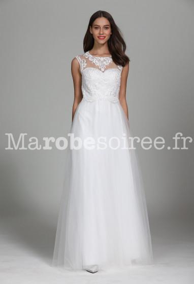 Robe de mariée style princesse très chic