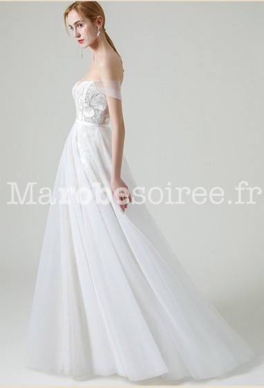 Robe de mariée bohème jupe amovible Réf RM2135 -  - Sur demande