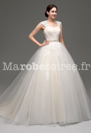 Robe de mariée danseuse tutu réf SQ233 - sur demande