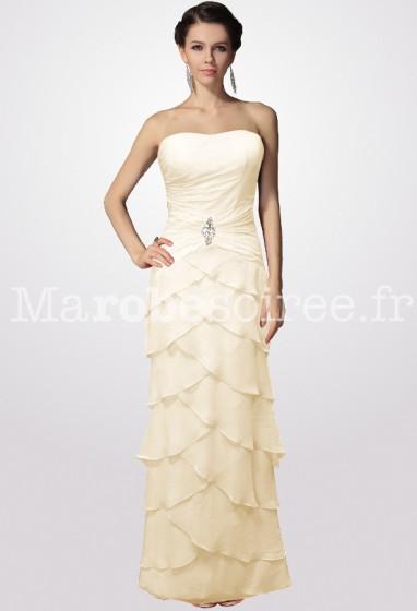 robe mère de la mariée élaborée