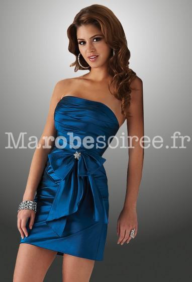 Déstockage - Elodie - robe de cocktail courte réf 4202