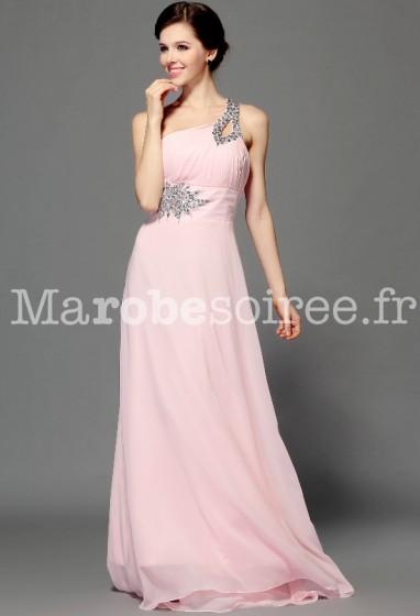 robe de soirée princesse rose