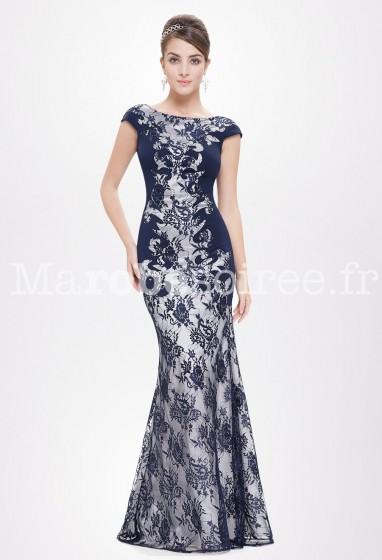 Robe de soirée pour mariage originale coupe sirène Réf. EP8338 - Sur Demande