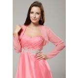 Mila - boléro gilet manches longues pour robe de soirée - sur demande 5913