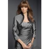 Anda - boléro gilet pour robe de soirée manche 3/4  5906 (livraison 72H)