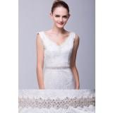 Ceinture en strass pour robe de mariée - Réf XW55