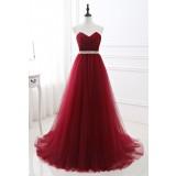 Robe de soirée rouge princesse- réf SQ422