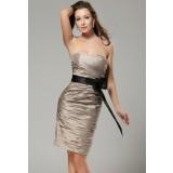 Wissal -  robe glamour chic à bustier coeur - sur demande réf 5020