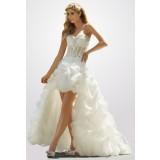 robe de mariée Nuage avec broderie  - sur demande  réf 023