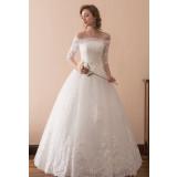 Robe de mariée princesse à manches réf SQ608