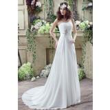 Robe de mariée élégante et sobre réf SQ242 - sur demande
