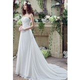 Robe de mariée élégante et sobre réf SQ242