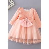 Petite Robe enfant style princesse à manches réf: EF9080