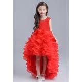 Robe pour jeune fille longueur asymétrique réf: EF1290