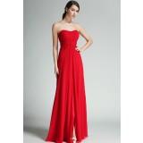 Robe longue de cérémonie rouge - Réf 1525