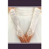 gants de mariée dentelle mitaines s06