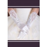 gants de mariée long avec broderie et perles s44