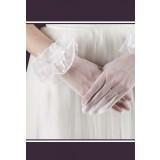 gants mariée élégant court s53