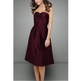 joannie - tenue de soirée burgundy tendance - sur demande 5005