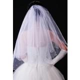 voile de robe de mariée avec perles T02