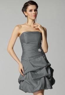 Robe de soiree couleur grise