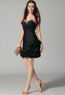 Déstockage - Sakura - robe de soirée cascade de roses réf 4210