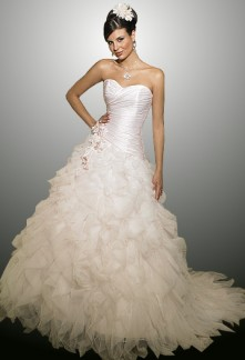Myriam - robe de mariée robe de mariage évasée 585