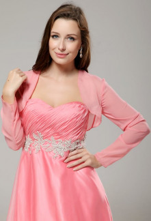 Mila - boléro gilet pour robe de soirée