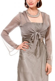 Apolline - boléro gilet pour robe de soirée cérémonie robe de mariage sur mesure 5914