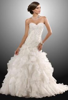 Elsa - robe de mariée robe de mariage évasée 914