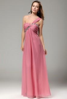 lea-robe-de-soiree-longue-bretelle-asymetrique-rose-poudre-ref-9415