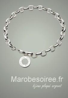 bijoux bracelet plaqué argent