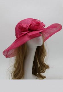 Chapeau pour femme en sinamay réf 219 Sur demande