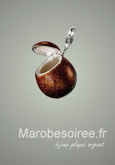 coco charms pendentif réf 13
